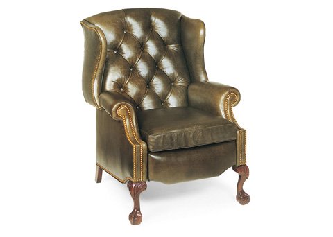 Hancock and Moore - Sterling Tufted Wing Chair Recliner - 1013