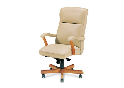 Hancock and Moore - Bailey High Back Swivel Tilt Office Chair - 1452ST-PL