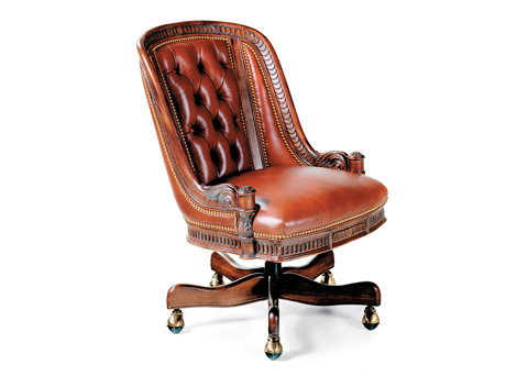 Hancock and Moore - Appointment Tufted Swivel-Tilt Office Chair - 1574ST