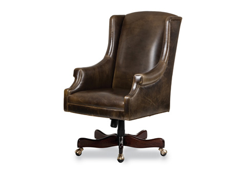 Hancock and Moore - Greyson Swivel Tilt Chair - 5470ST-PL