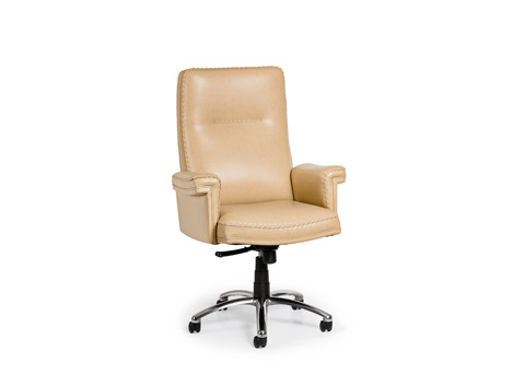 Hancock and Moore - Garrett Swivel Tilt Chair - 5895ST-PL