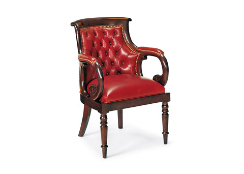 Hancock and Moore - Jockey Club Tufted Chair - 9397T