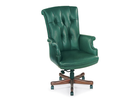 Hancock and Moore - Bradford Tufted Swivel-Tilt Pneumatic Lift Chair - 9571ST-PL