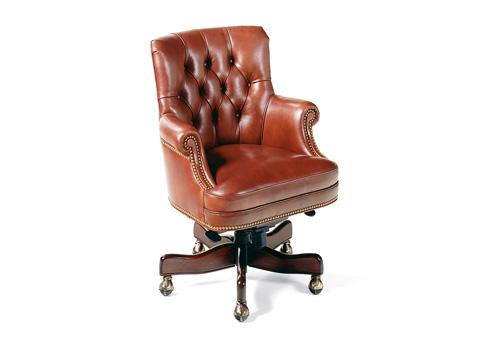 Hancock and Moore - Fremont Tufted Swivel-Tilt Pneumatic Lift Chair - 8911ST-PL