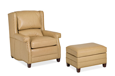 Hancock and Moore - Duke Chair and Ottoman - 6100-1