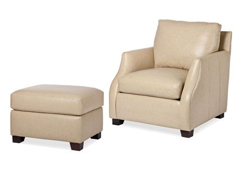 Hancock and Moore - Nola Chair and Ottoman - 5830-O/5830-1