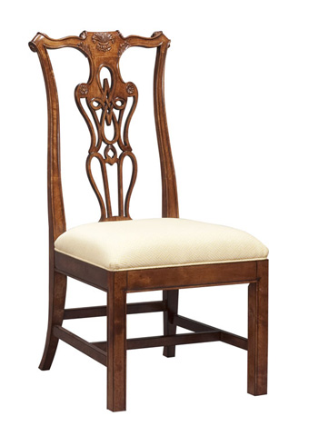 Harden Furniture - Chippendale Side Chair - 539