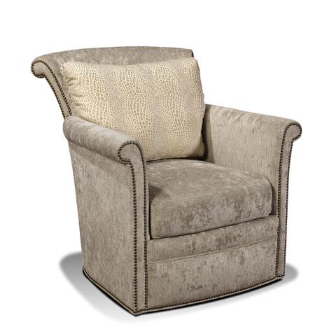 Harden Furniture - Flared Back Swivel Lounge Arm Chair - 8419-000