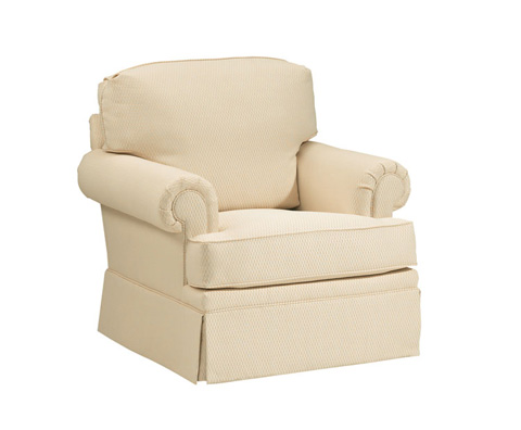 Harden Furniture - Rolled Arm Club Chair - 6443-000