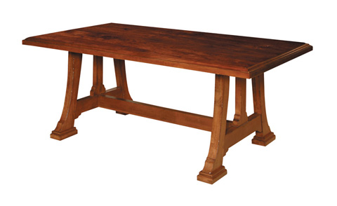 Harden Furniture - Napa Trestle Dining Table - 1699