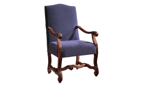 Harden Furniture - Carved Frame Arm Chair - 3415-000