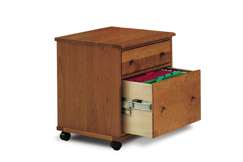 Harden Furniture - File Cabinet with Casters - 1170