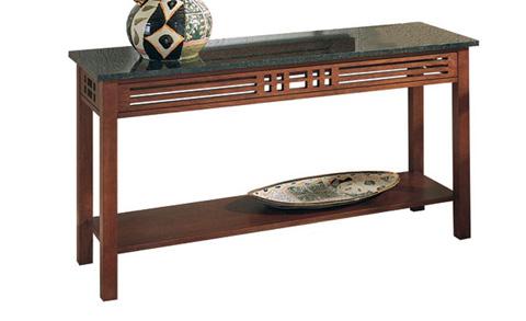 Harden Furniture - Half Millville Sofa Table - 332