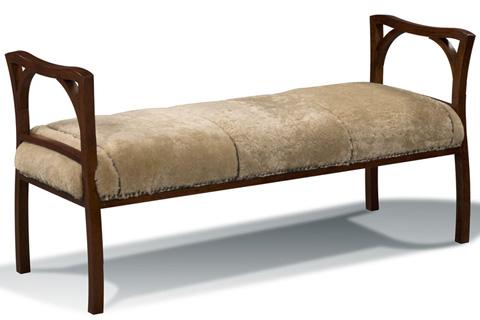 Harden Furniture - Nadine Upholstered Bench - 3343-000