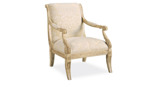 Harden Furniture - Carved Wood Frame Arm Chair - 3442-000