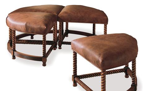 Harden Furniture - Four Piece Cocktail Ottoman - 4329-000