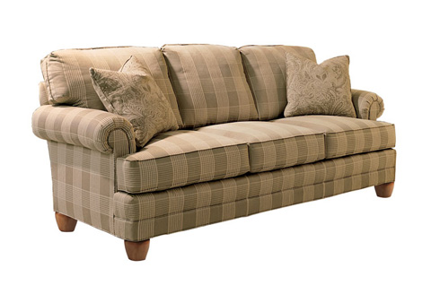 Harden Furniture - Panel Arm Three Seat Sofa - 6542-085