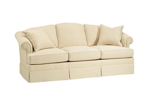 Harden Furniture - Kick Pleat Skirted Sofa - 6559-082