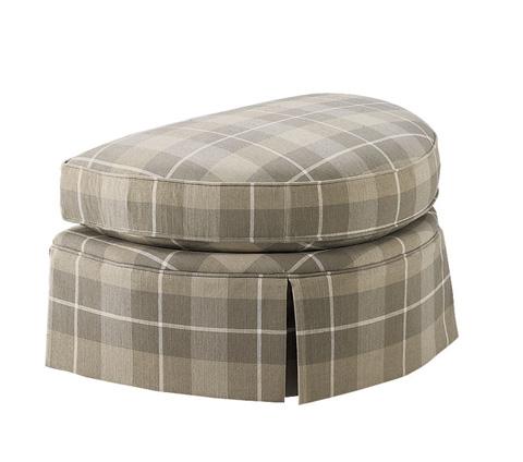Harden Furniture - Kick Pleat Skirted Ottoman - 8339-000