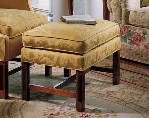 Harden Furniture - Chippendale Ottoman - 8343-000