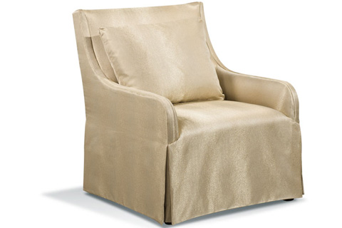 Harden Furniture - Artisan Slip Covered Arm Chair - 8444-000
