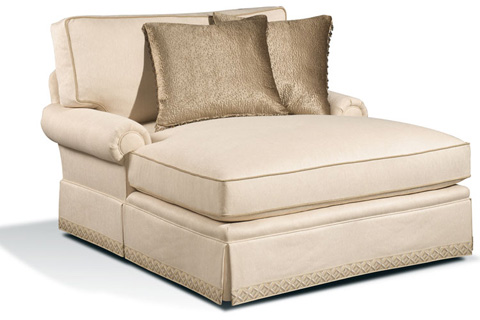 Harden Furniture - Loose Pillow Back Chaise - 8453-000