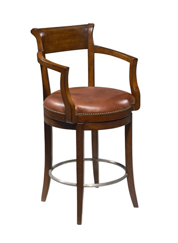 Harden Furniture - Leather Barstool - 877
