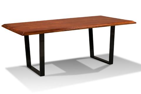 Harden Furniture - Metal Base Dining Table - 1676-100