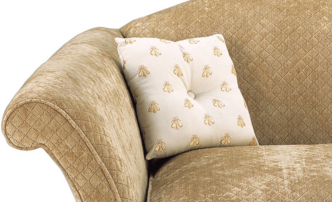 Harden Furniture - Weltless Square Buttoned Pillow - 47-12