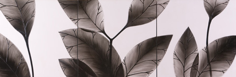 Hebi Arts, Inc. - Leaf Painting - WP0002