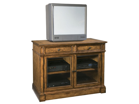 Hekman Furniture - Entertainment Console with Glass Doors - 8-1340