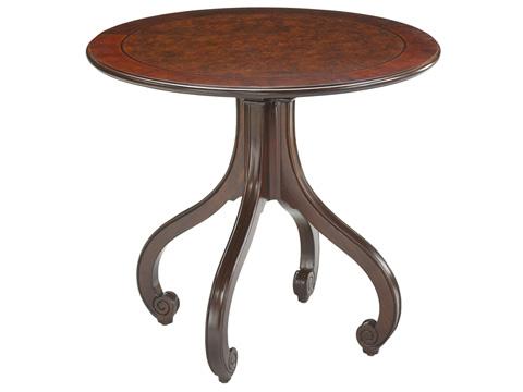 Hekman Furniture - Paris Round Lamp Table - 1-1206