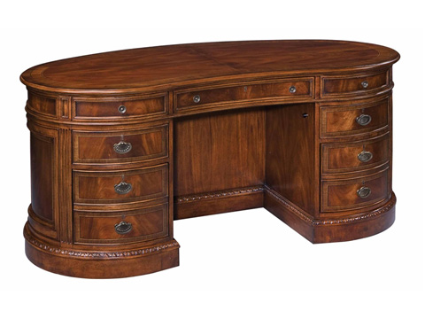 Hekman Furniture - New Orleans Kidney Desk - 1-1340