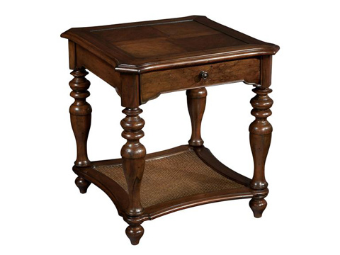 Hekman Furniture - Vintage European Square End Table - 2-3205
