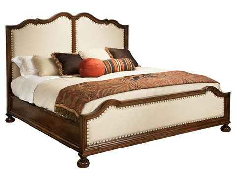Hekman Furniture - Vintage European Upholstered Queen Bed - 2-3268