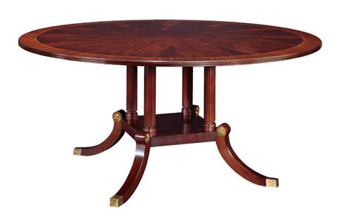 Henkel-Harris - Round Dining Table - 2266
