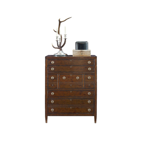 Henredon - Five Drawer Tall Chest - 3401-05