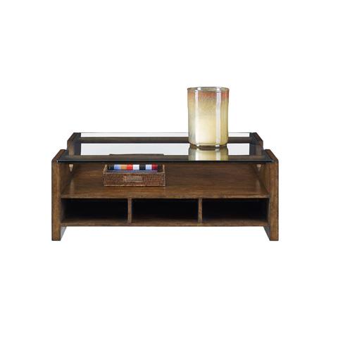 Henredon - Glass Top Cocktail Table - 3421-40G