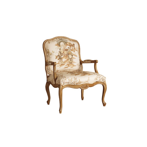 Henredon - Bethany Exposed Frame Chair - H0757