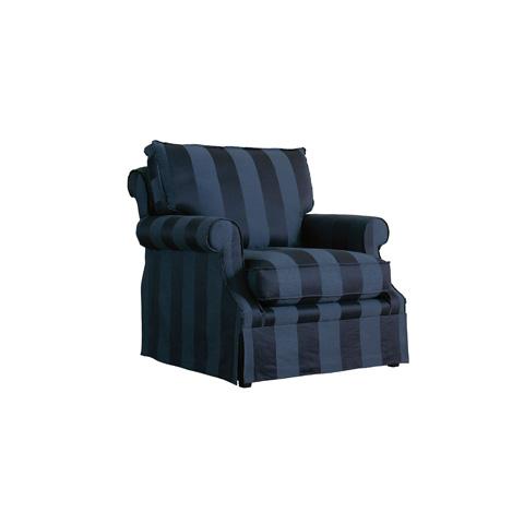 Henredon - Rosalind Skirted Club Chair - H0962