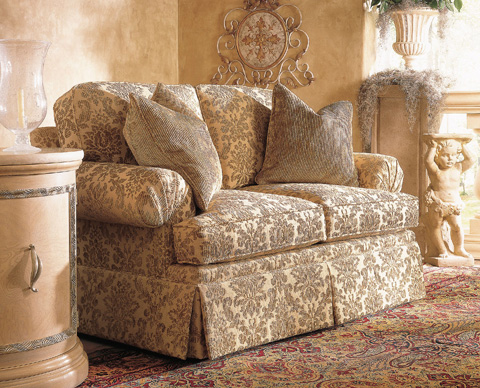 Henredon - Fireside Skirted Loveseat - H1000-A
