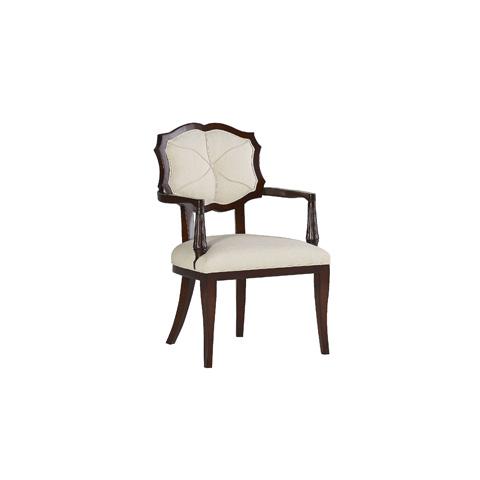 Henredon - Hexafleur Arm Chair with Exposed Frame - H1306