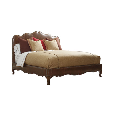 Henredon - Upholstered King Bed with Curved Headboard - IL7710-12
