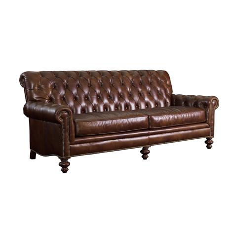 Henredon - Tufted Scroll Back Sofa - IL8827-C