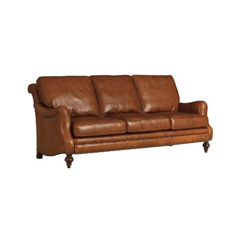 Henredon - English Arm Scroll Back Sofa - IL8832-C