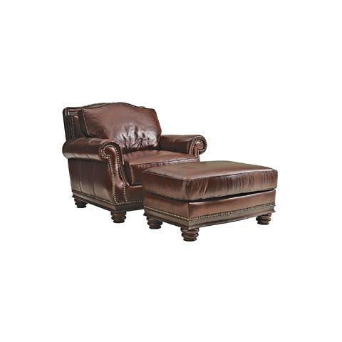 Henredon - Leather Club Chair - IL7741