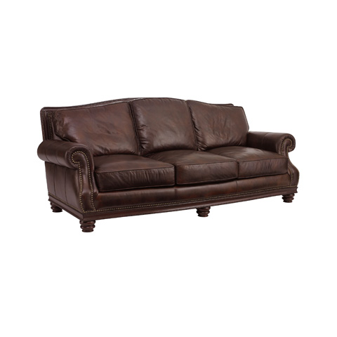 Henredon - Leather Sofa - IL7741-C