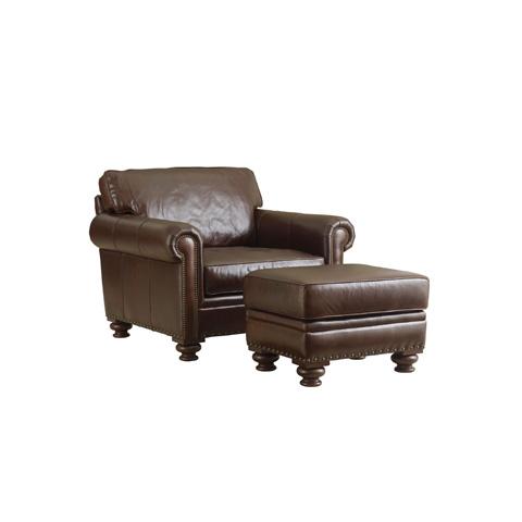Henredon - Leather Club Chair - IL8813