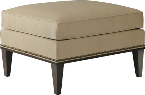 Hickory Chair - Cline Ottoman - 112-29