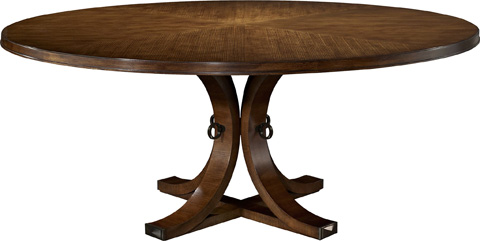 Hickory Chair - Artisan Ash Round Dining Table - 141-10/142-10